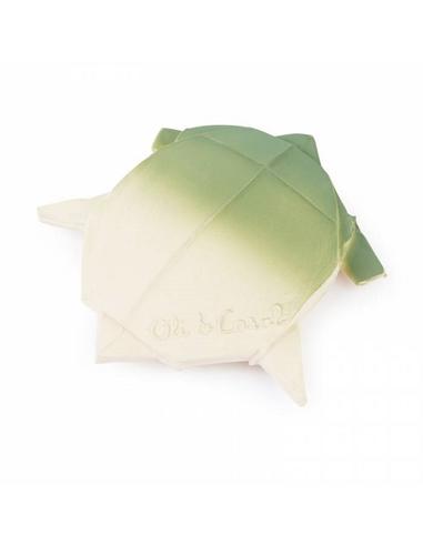 Oli & Carol Bijtspeelgoed H2Origami Turtle - Schildpad