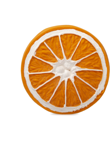 Oli & Carol Bijtspeelgoed Clementino the Orange - Sinasappel
