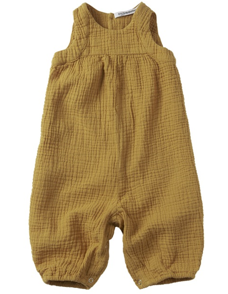 Playsuit Sleeveless Spruce Yellow