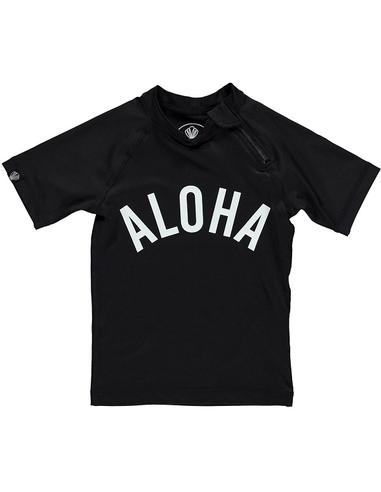 Beach & Bandits UV-shirt Aloha Black