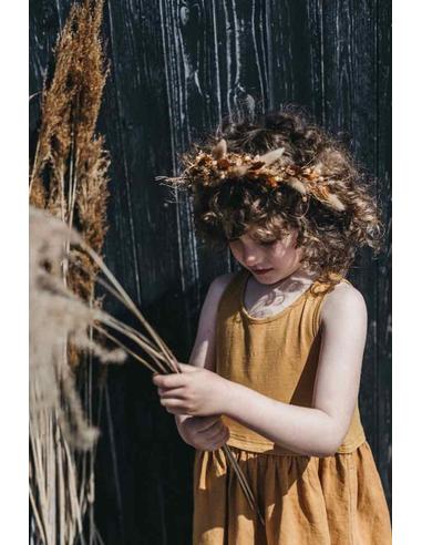 Sleeveless Dress Spruce Yellow