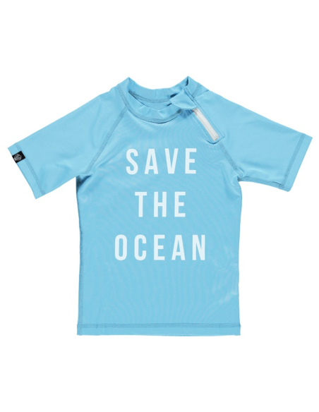 UV-shirt Save the ocean Tee