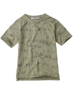 T-shirt Grass Print Oak