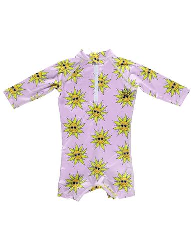 Beach & Bandits UV-babysuit Sunny Flower