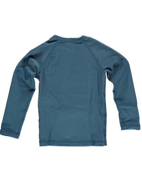 UV-shirt Ocean Ribbed