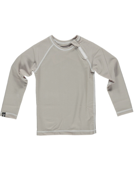 UV-shirt Sand Ribbed