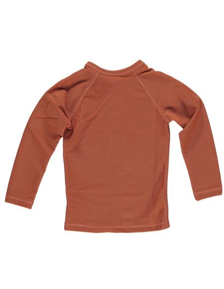 UV-shirt Earth Ribbed