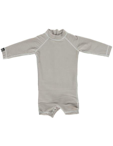 UV-babysuit Sand Ribbed