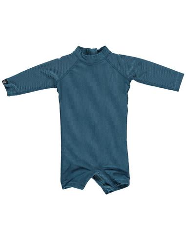 UV-babysuit Ocean Ribbed