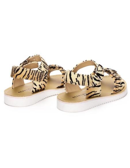 Bear & Mees Sandaal Tiger