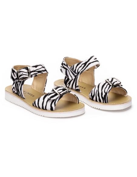 Sandaal Zebra