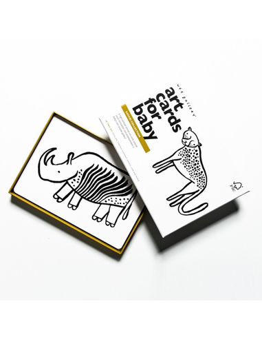 Wee Gallery Art Cards - Safari