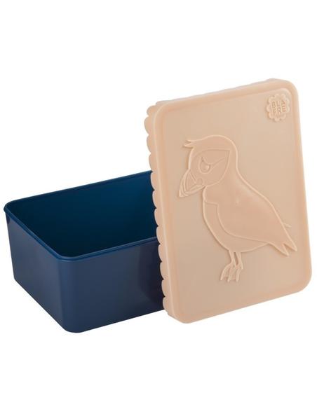 Blafre lunchbox 1 compartiment puffin peach