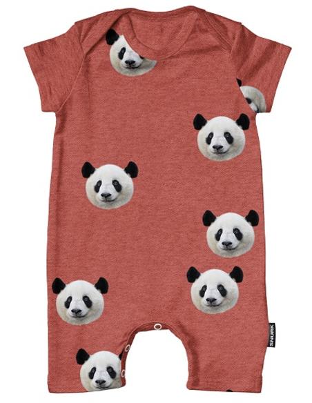 Lazy Panda Playsuit Babies