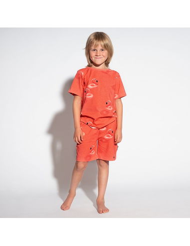 Floating Flamingo T-shirt Kids