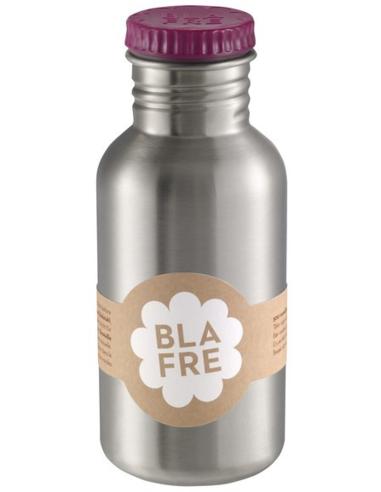 Blafre drinkfles RVS aubergine 500 ML