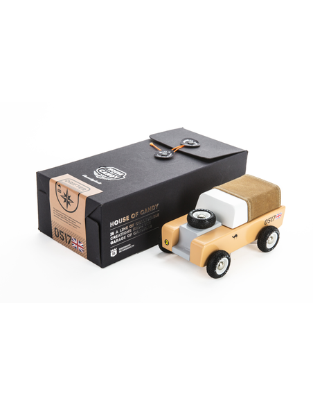 Candylab Toys Drifter Sahara Brown Canvas