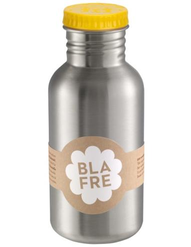 Blafre drinkfles RVS geel 500 ML