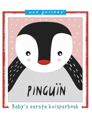 Wee Gallery Soft Book Pinguin