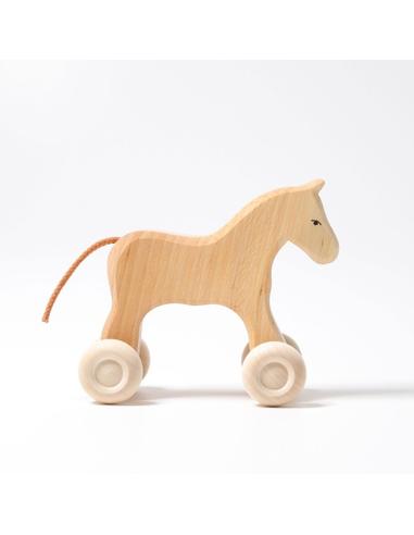 Grimm's Houten Paard op Wielen