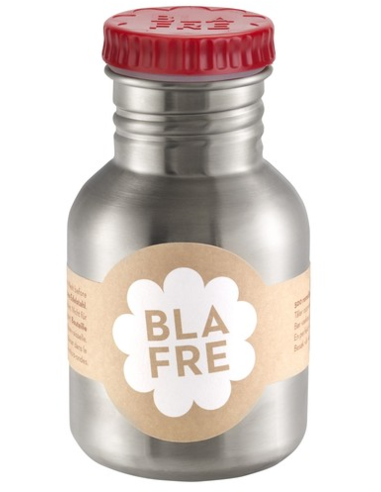 Blafre drinkfles RVS rood 300 ML