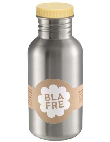 Blafre drinkfles RVS lichtgeel 500 ML
