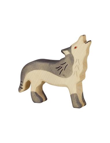 Holztiger Houten Wolfhuilend