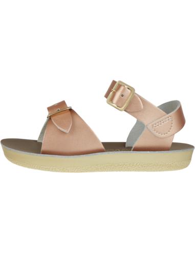 Salt Water Sandals Surfer Rose Gold