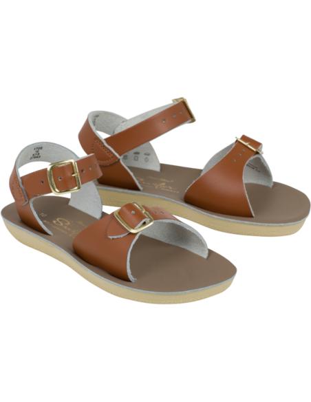 Salt Water Sandals Surfer Tan
