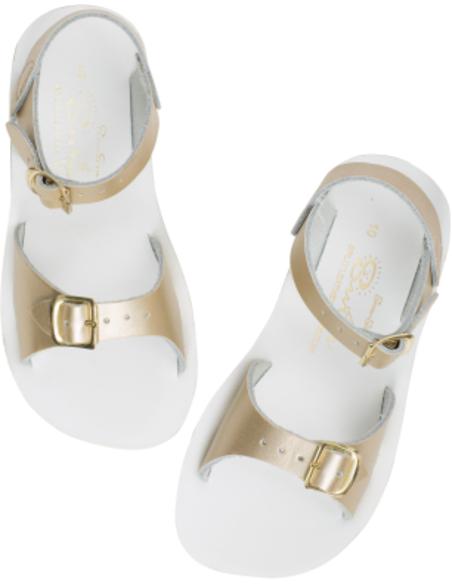 Salt Water Sandals Surfer Gold