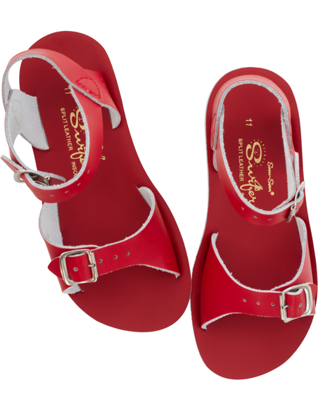 Salt Water Sandals Surfer Red