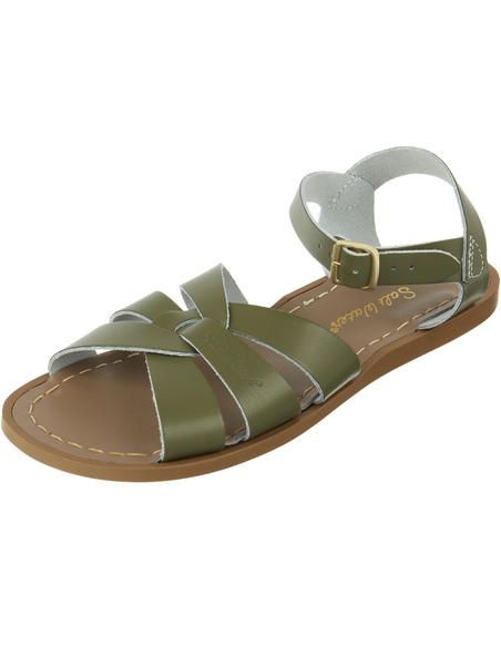 Salt Water Sandals Original Olive Kids