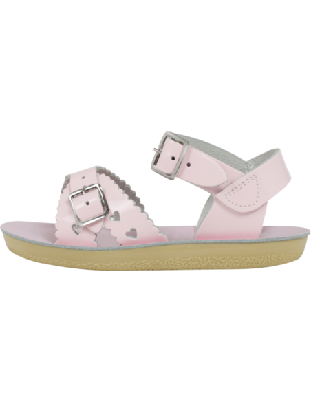 Salt Water Sandals Sweetheart Shiny Pink