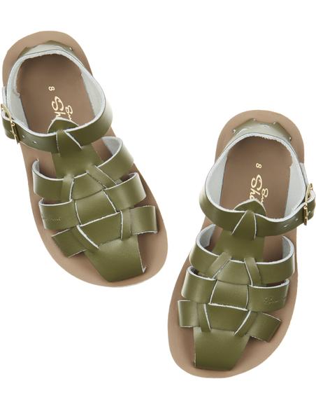 Salt Water Sandals Shark Olive