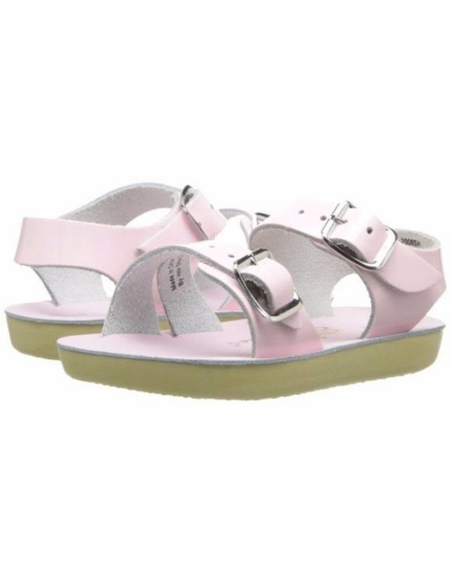 Salt Water Sandals Seawee Shiny Pink