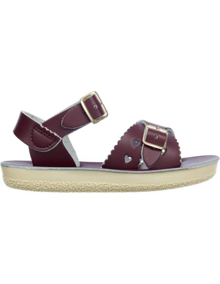 Salt Water Sandals Sweetheart Claret