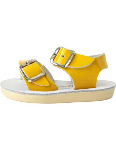 Salt Water Sandals Seawee Shiny Yellow