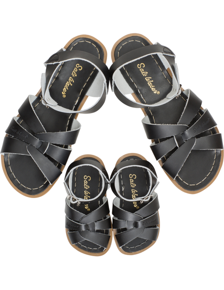 Salt Water Sandals Original Black Kids