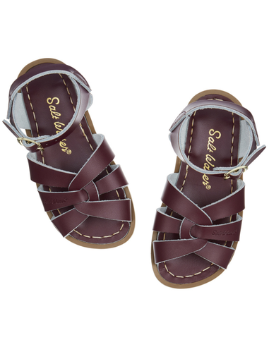 Salt Water Sandals Original Claret Kids