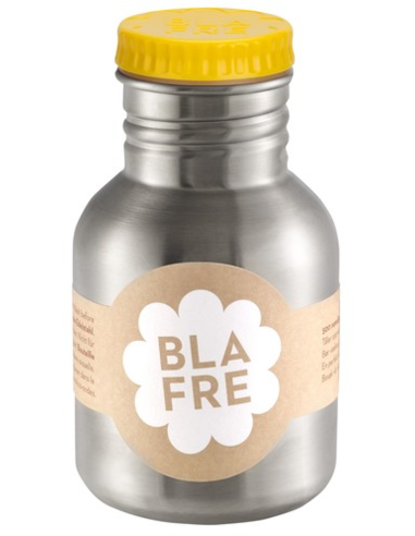Blafre drinkfles RVS geel 300 ML