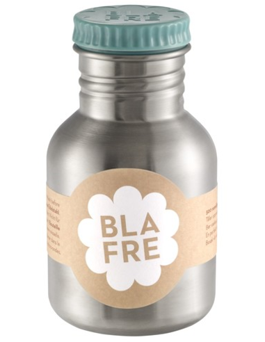 Blafre drinkfles RVS blauw 300 ML