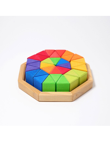 Houten Puzzel Octagon Medium