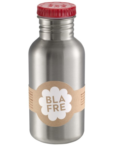 Blafre drinkfles RVS rood 500 ML