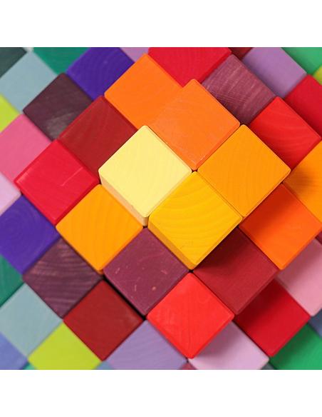 Houten Blokkenset Piramide Groot