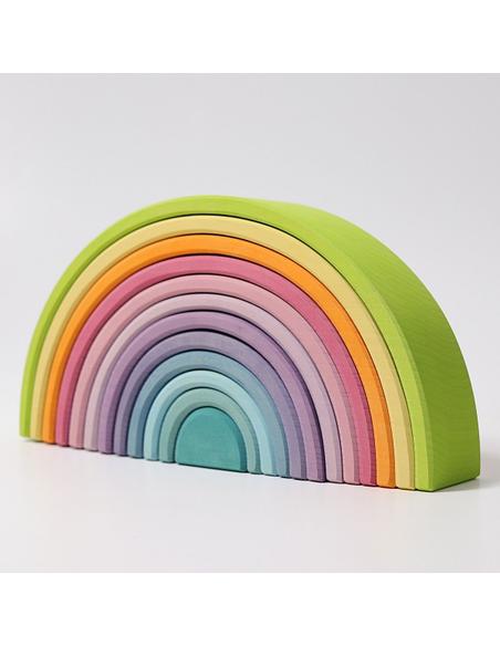 Regenboog Pastel Groot