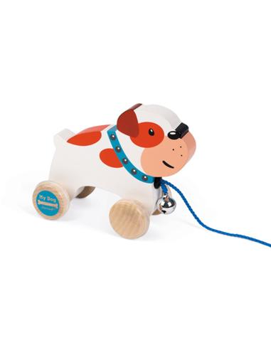 Janod My Dog - Bulldog Trekfiguur