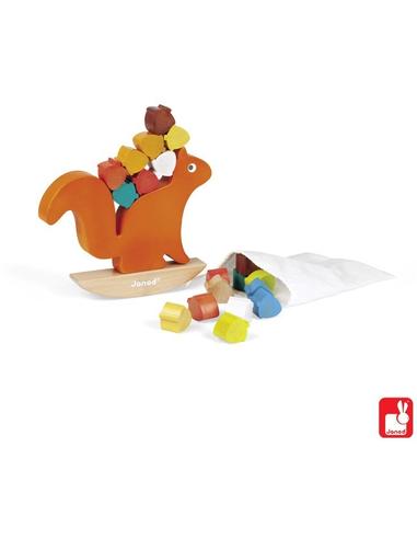 Evenwichtsspel - Nutty de Eekhoorn