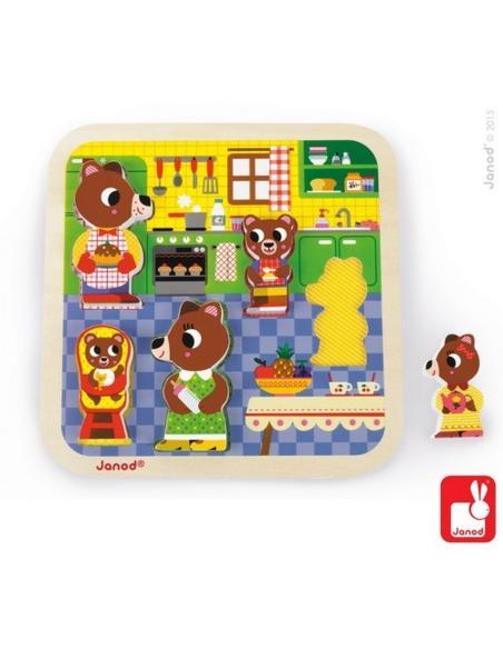 Chunky puzzel - In de Keuken