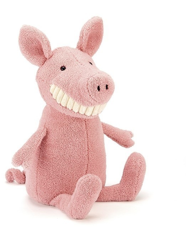 Knuffel Toothy Pig
