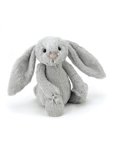 Knuffel Bashful Silver Bunny Medium